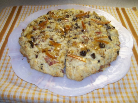 Bacon Date Scones