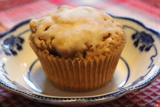 Rum Raisin Cranberry Muffin