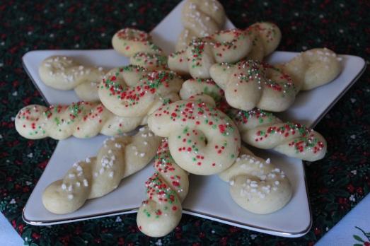 Scandinavian Kringla Cookies