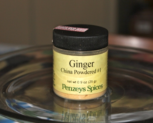 Ground ginger, a sweet-hot, peppery powder.