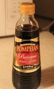 A nice variety of balsamic, with a hint of pomegranate added.