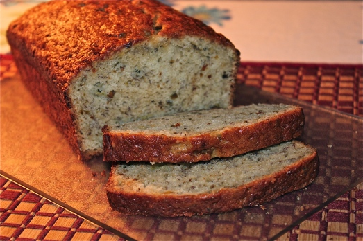 Banana bread, perfect with a cup of tea or coffee.