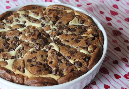 Mouth-watering aromas came from the oven while this was baking.