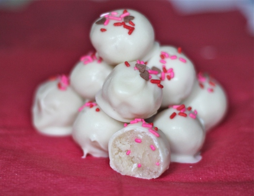 Funfetti Truffles for Valentines Day.