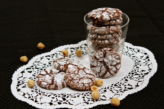 Nutella Crackle Cookies