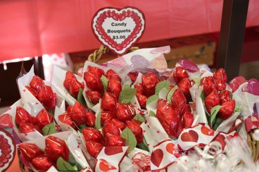 Rosebud bouquets
