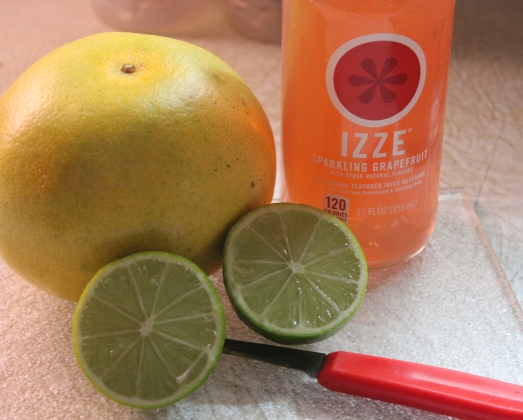 The flavors of grapefruit and lime are so refreshing.