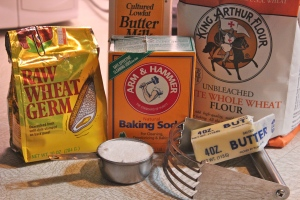 Just a few ingredients with baking soda being a prominent one.