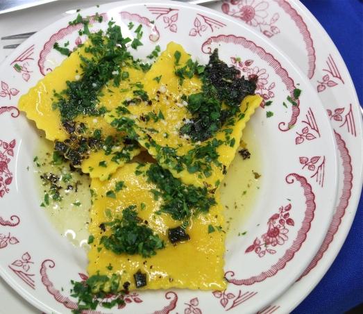 Butternut Ravioli with Sage Brown Butter Sauce