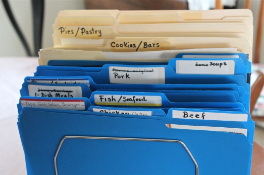 My file of files.