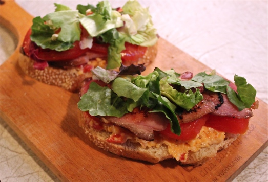 Pimiento Cheese BLT's