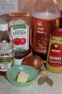 These few ingredients become a luscious BBQ sauce.