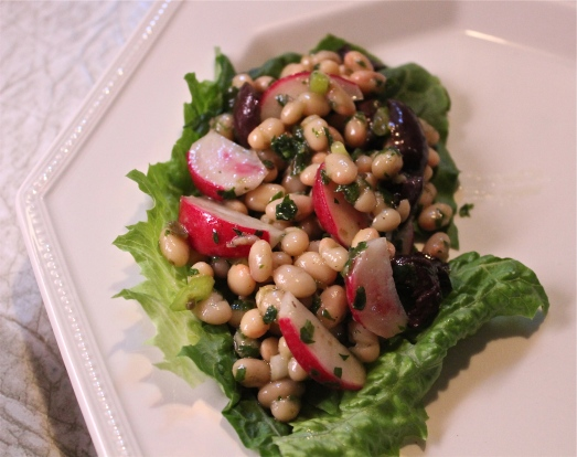 White Bean and Radish Salad