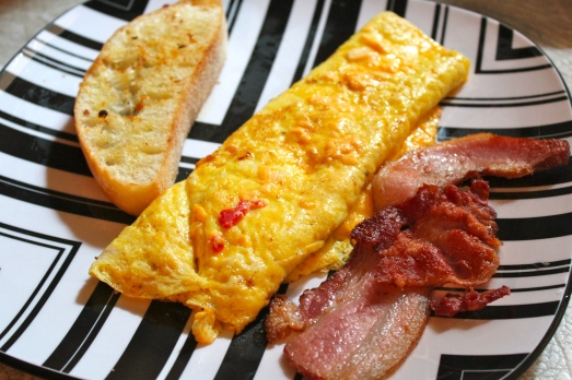 Pimiento-Cheese Omelet