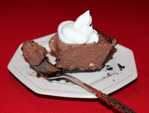 If you love chocolate you will love this pie!!
