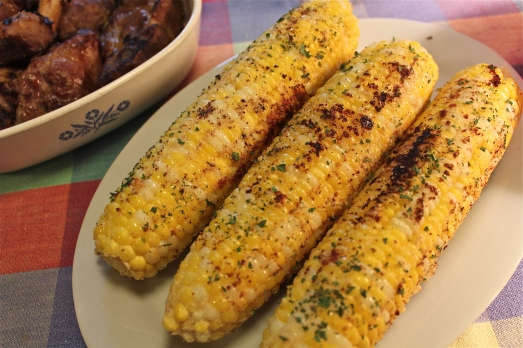 A flavorful twist on the simple ear of corn.