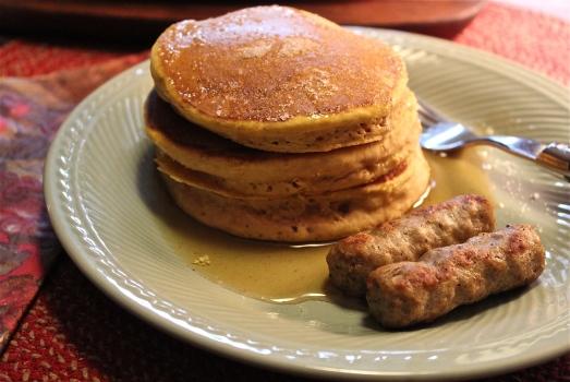 Pumpkin Spice Pancakes.