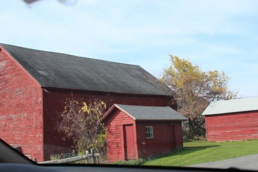 Big and little barns.