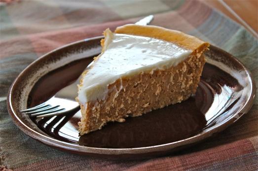 Gluten-free Pumpkin Cheese Cake.