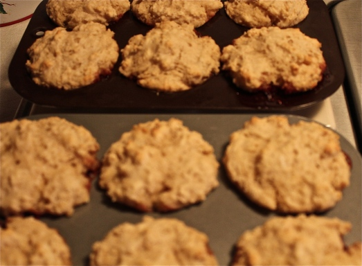 Bake till lightly browned around the edges.