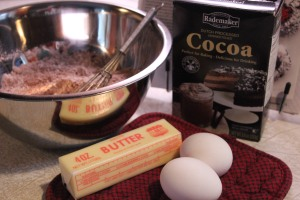 Dutch process cocoas makes a nice dark cookie.