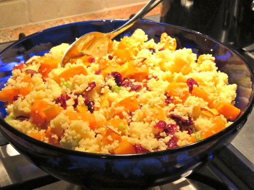 Butternut Squash and Cranberry Couscous