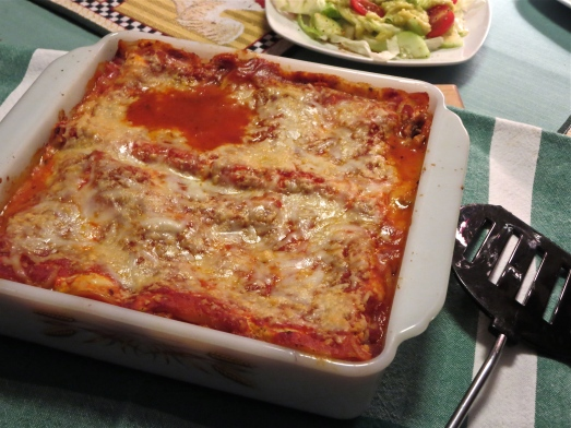 Lasagna with No-boil Noodles