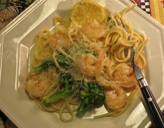 Shrimp and Broccoli Scampi