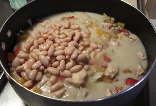 Beans added.