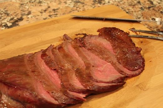 Smoked Soy-Glazed Flank Steak