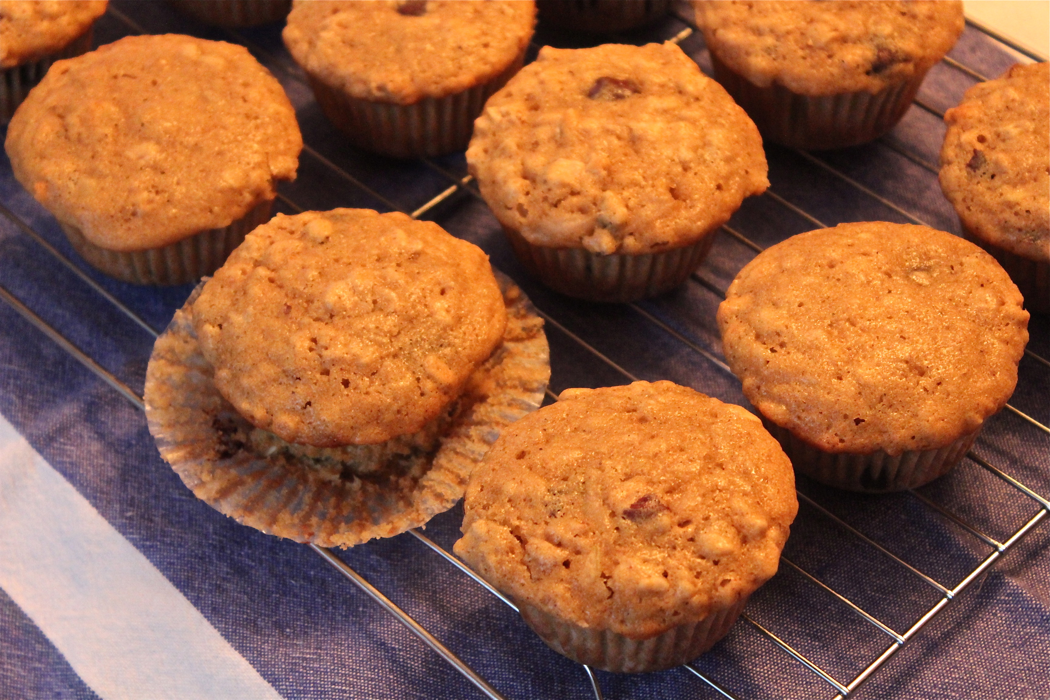 Pear and Hazelnut Muffins | Delicious on a Dollar
