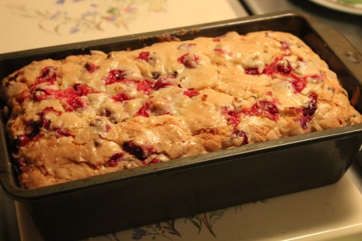 Cranberry Coconut Quick Bread