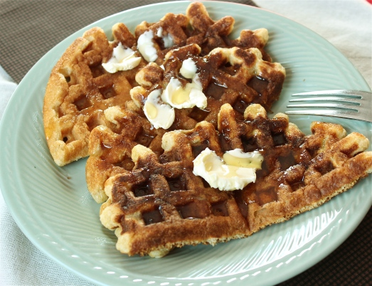 Whole Grain Buttermilk Waffles