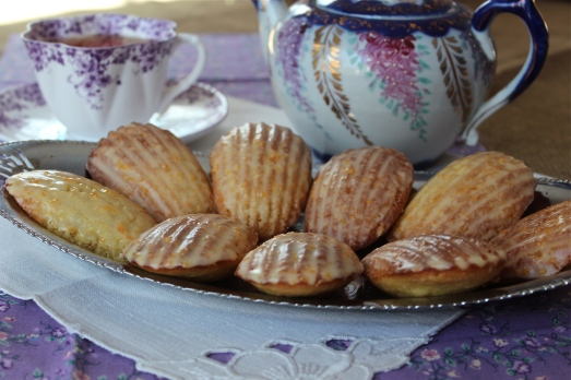 Only slightly sweet, they are lovely with a cup of tea.