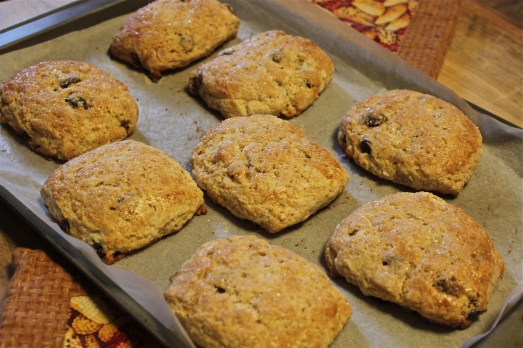 Fresh from the oven and smelling delicious.