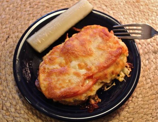 Tuna Melt with Horseradish Mayonnaise
