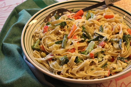 Pasta Primavera with Crab