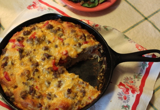 An egg casserole that Mom will love.