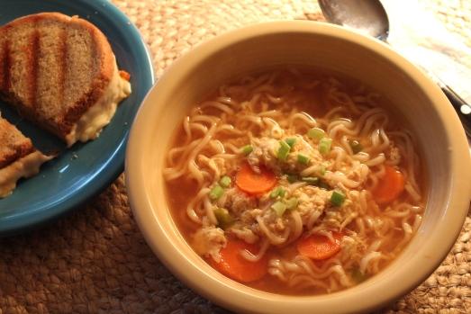 Egg-Drop Noodle Soup