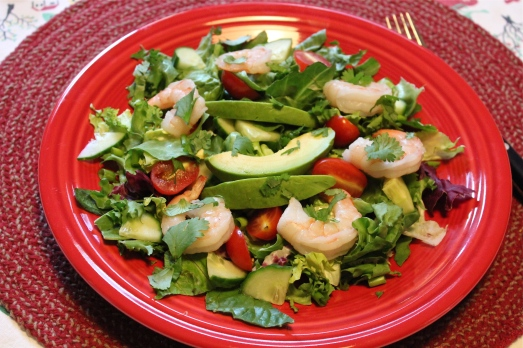 Shrimp and Avocado Chopped Salad