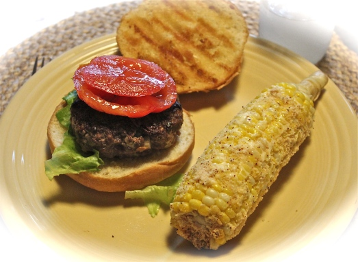 Serve with fresh corn for a great summer meal.