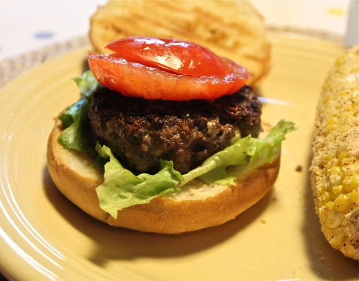 Blue Cheese Burgers.