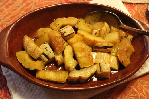 Maple- Maple-Glazed Delicata Squash