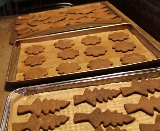 Makes lots of cut-out cookies.