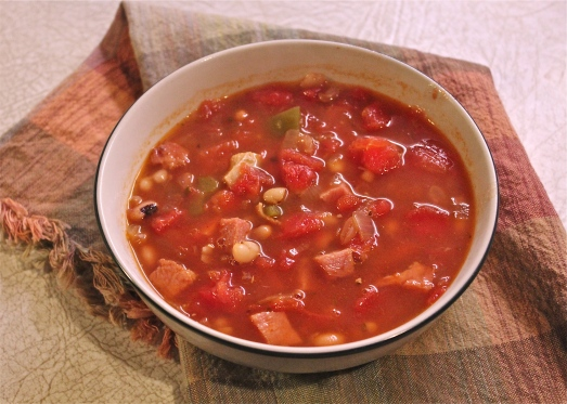 Mexican Ham and Bean Soup