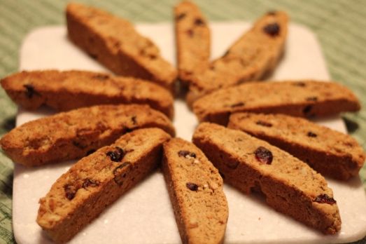 The winners….biscotti!