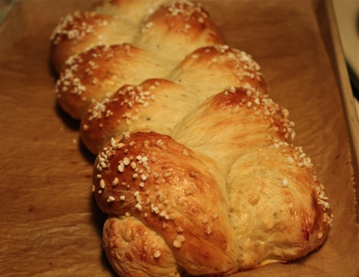 Swedish Cardamom Braid
