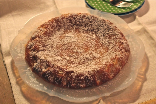 Italian Lemon Almond Cake
