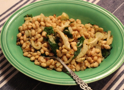 White Beans with Fennel.