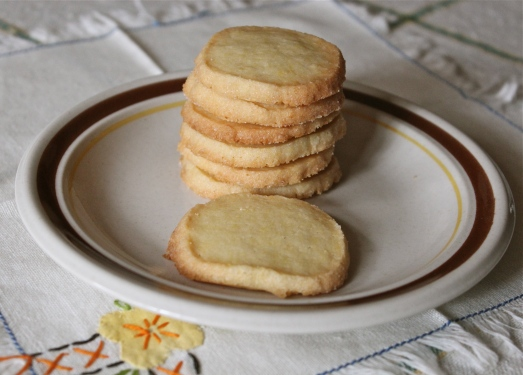 Lemon Icebox Cookies